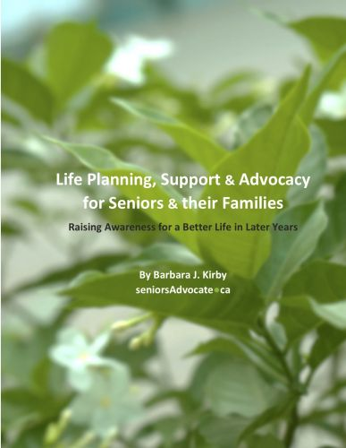 Life Planning, Support & Advocacy for Seniors & their Families